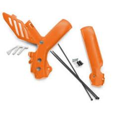 Gyári KTM Narancs vázvédő 07-10 125-530