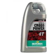 MOTOREX CROSS POWER 4T 10W60 MA2 1L