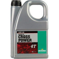 MOTOREX CROSS POWER 4T 10W60 MA2 4L