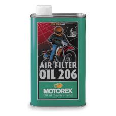 MOTOREX AIR FILTER OIL 206 1L (LEVEGŐSZŰRŐ OLAJ)