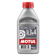 MOTUL DOT 3 & 4 BRAKE FLUID 0,5L